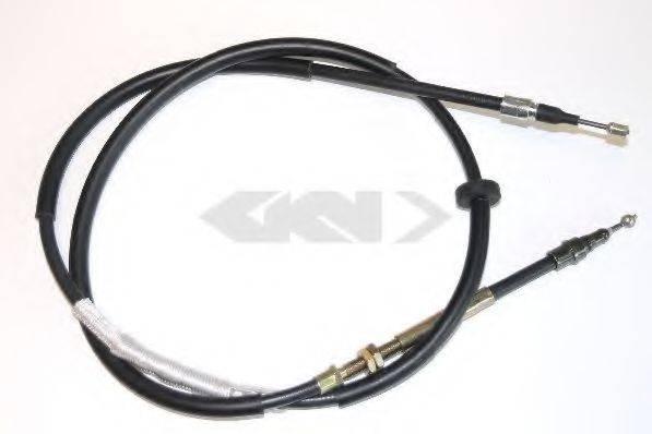 SPIDAN 441210 Трос, стояночная тормозная система