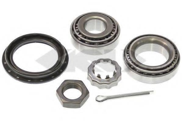 SPIDAN 26498 Комплект подшипника ступицы колеса