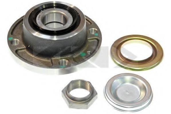 SPIDAN 26537 Комплект подшипника ступицы колеса