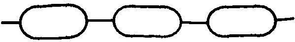 ELRING 413900 Прокладка, впускной коллектор