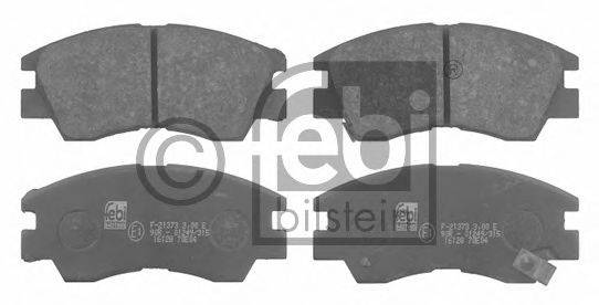 FEBI BILSTEIN 16128 Комплект тормозных колодок, дисковый тормоз