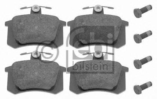 FEBI BILSTEIN 16144 Комплект тормозных колодок, дисковый тормоз