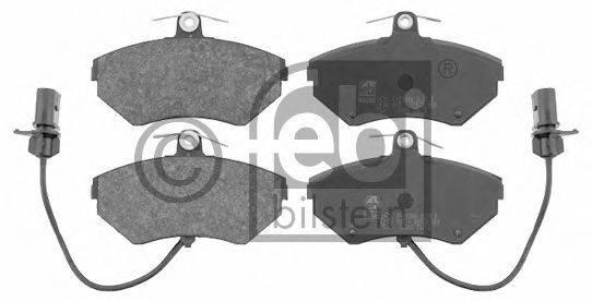 FEBI BILSTEIN 16340 Комплект тормозных колодок, дисковый тормоз