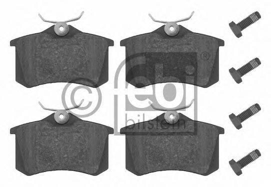 FEBI BILSTEIN 16344 Комплект тормозных колодок, дисковый тормоз