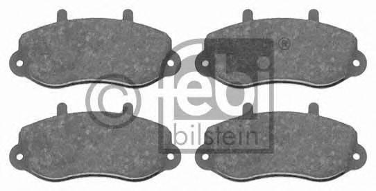 FEBI BILSTEIN 16494 Комплект тормозных колодок, дисковый тормоз