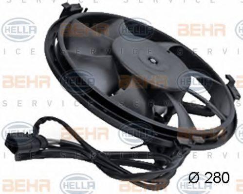 BEHR HELLA SERVICE 8EW351039771 Вентилятор, охлаждение двигателя