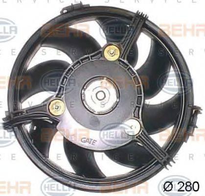 BEHR HELLA SERVICE 8EW351043781 Вентилятор, охлаждение двигателя