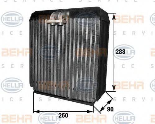 BEHR HELLA SERVICE 8FV351211161 Испаритель, кондиционер