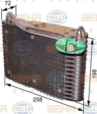 BEHR HELLA SERVICE 8FV351330561 Испаритель, кондиционер