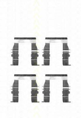 TRISCAN 8105101600 Комплектующие, колодки дискового тормоза