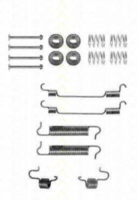 TRISCAN 8105102588 Комплектующие, тормозная колодка