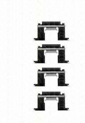 TRISCAN 8105141523 Комплектующие, колодки дискового тормоза