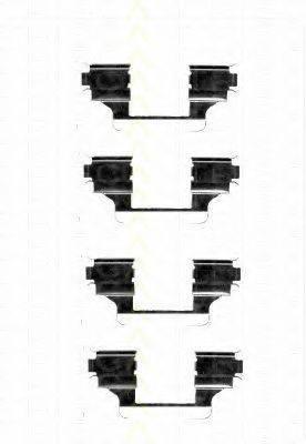 TRISCAN 8105281594 Комплектующие, колодки дискового тормоза