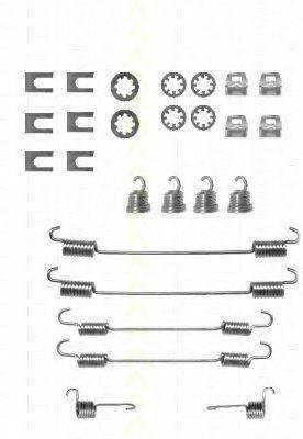 TRISCAN 8105282524 Комплектующие, тормозная колодка