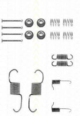 TRISCAN 8105422558 Комплектующие, тормозная колодка
