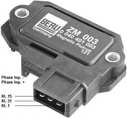 BERU ZM003 Коммутатор, система зажигания