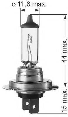 BERU 112554 Лампа накаливания, основная фара