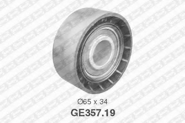 SNR GE35719 Паразитный / Ведущий ролик, зубчатый ремень