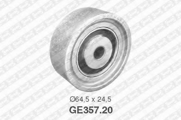 SNR GE35720 Паразитный / Ведущий ролик, зубчатый ремень