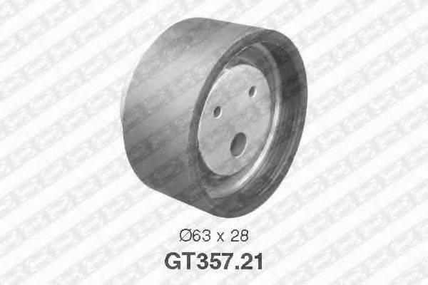 SNR GT35721 Натяжной ролик, ремень ГРМ