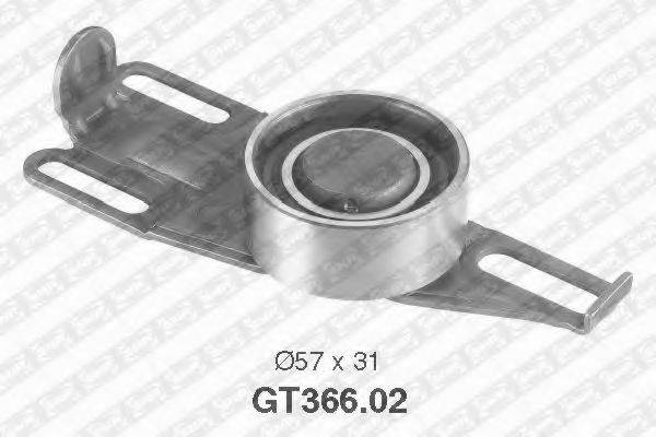 SNR GT36602 Натяжной ролик, ремень ГРМ