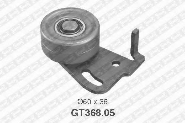 SNR GT36805 Натяжной ролик, ремень ГРМ