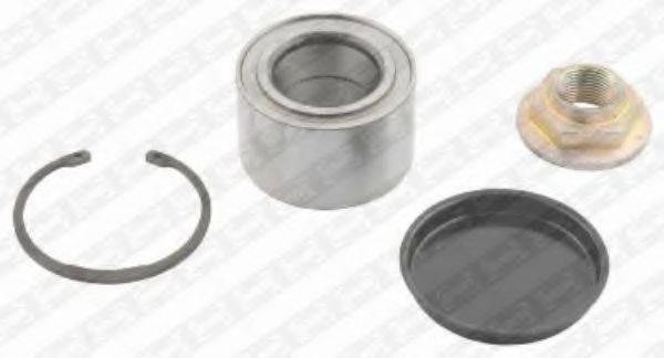 SNR R14001 Комплект подшипника ступицы колеса