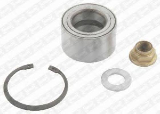 SNR R15564 Комплект подшипника ступицы колеса