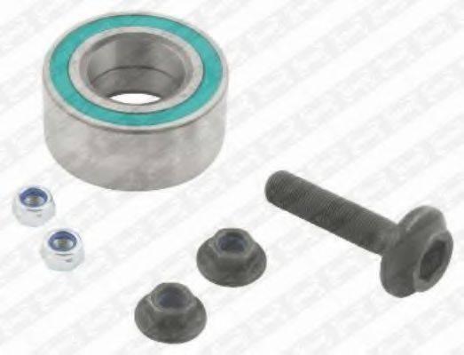 SNR R15724 Комплект подшипника ступицы колеса
