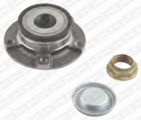 SNR R15949 Комплект подшипника ступицы колеса