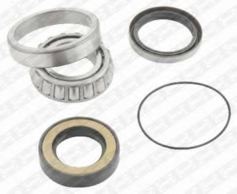 SNR R17307 Комплект подшипника ступицы колеса