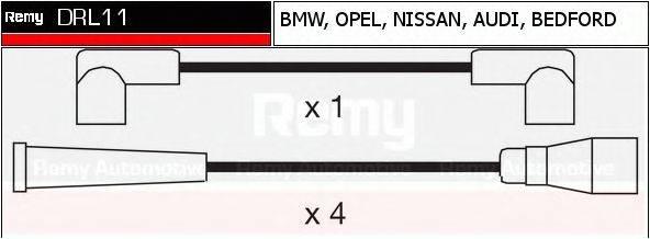 DELCO REMY DRL11 Комплект проводов зажигания