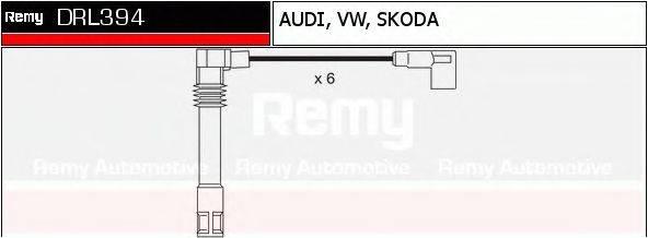 DELCO REMY DRL394 Комплект проводов зажигания