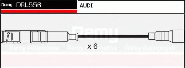 DELCO REMY DRL556 Комплект проводов зажигания