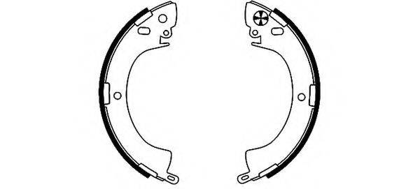 PAGID H8305 Комплект тормозных колодок