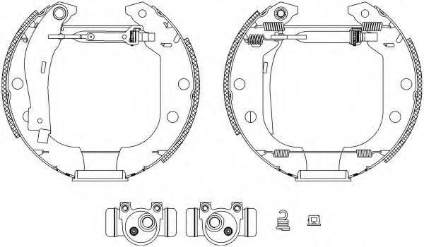 PAGID R0175 Комплект тормозных колодок