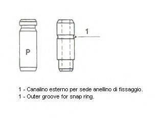 METELLI 012143 Направляющая втулка клапана