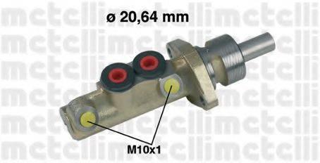 METELLI 050156 Главный тормозной цилиндр