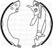 METELLI 530251Y Комплект тормозных колодок