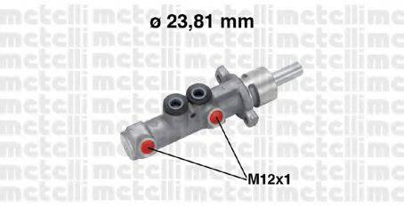 METELLI 050572 Главный тормозной цилиндр