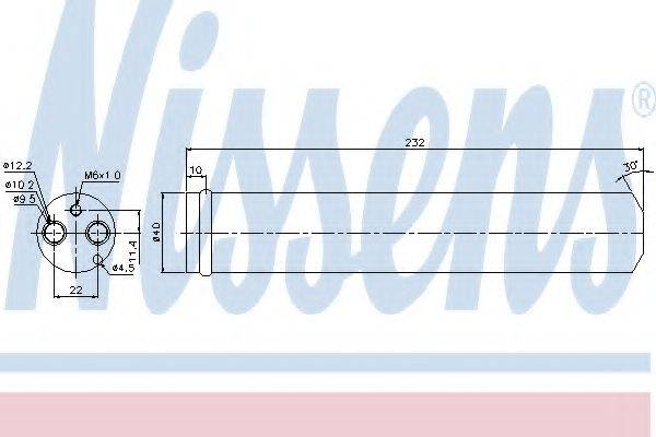 NISSENS 95452 Осушитель, кондиционер