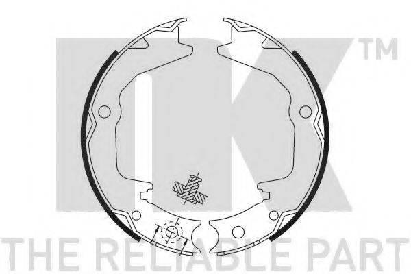 NK 2730674 Комплект тормозных колодок, стояночная тормозная система