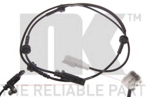 NK 293711 Датчик, частота вращения колеса