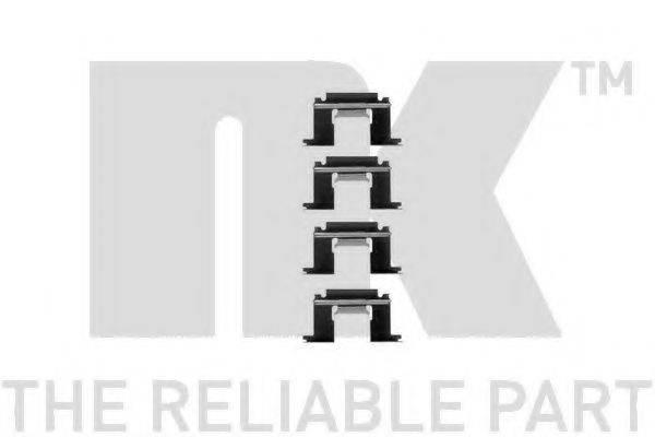 NK 7922064 Комплектующие, колодки дискового тормоза