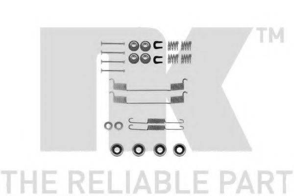 NK 7922635 Комплектующие, тормозная колодка