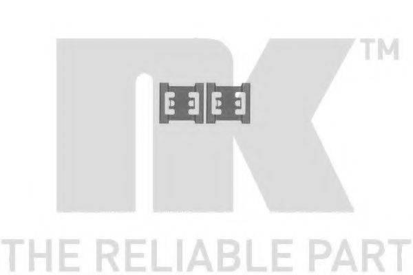 NK 7922688 Комплектующие, колодки дискового тормоза