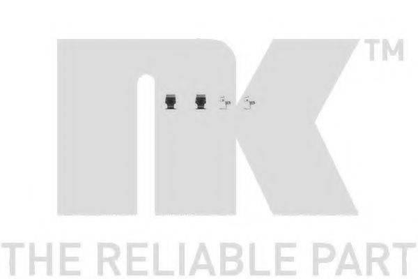 NK 7930673 Комплектующие, колодки дискового тормоза