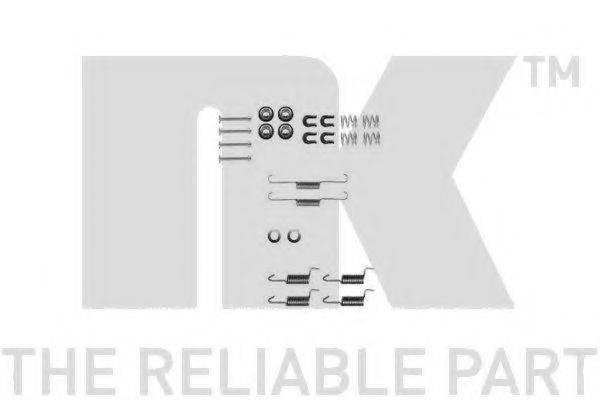 NK 7930788 Комплектующие, стояночная тормозная система