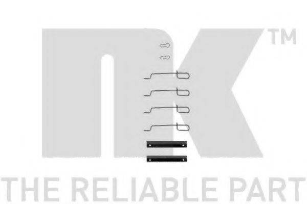 NK 7937992 Комплектующие, колодки дискового тормоза