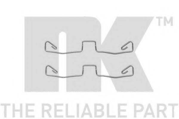 NK 7947633 Комплектующие, колодки дискового тормоза